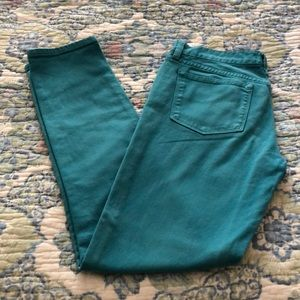 JCrew Toothpick Ankle Jeans Size 26